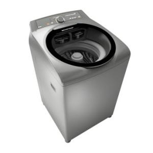 Máquina de Lavar Brastemp 15kg cor Inox com Ciclo Edredom Especial e Enxágue Anti-Alérgico - 220V - R$1747