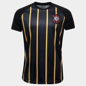 Camisa Corinthians Gold - Edição Limitada Masculina - Preto e Dourado