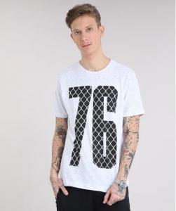 Camisetas masculinas C&A - a partir de R$8