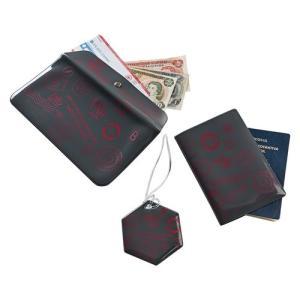 Kit porta documentos de viagem - R$ 12
