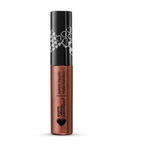 Batom líquido mate metálico | R$15