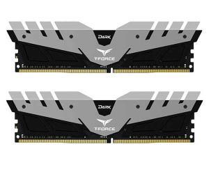 MEMORIA TEAM GROUP T-FORCE DARK 8GB (2X4) 2666MHZ DDR4 CINZA, por R$ 499