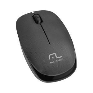 Mouse Sem Fio Multilaser 2.4 Ghz 1200 Dpi Preto Usb Mo251 - R$19