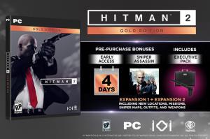 HITMAN 2 de graça na Steam