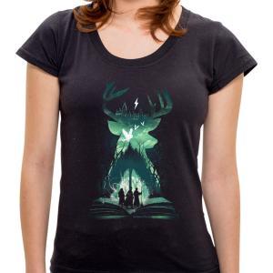 Camiseta Book of Wizardry - Feminina | R$35