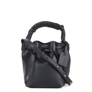 Bolsa Shoestock Mini Bag Bucket Handmade Feminina - Preto   R$84