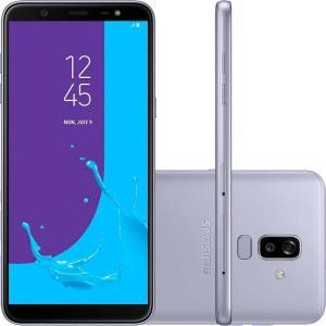 Smartphone Samsung J810 Galaxy J8 Prata 64 GB por R$ 1059
