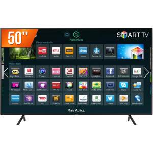 Smart TV LED 50'' Ultra HD 4K Samsung NU7100 HDMI USB Wi-Fi Integrado Conversor Digital