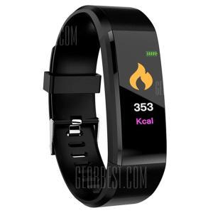 ID115 Plus 0.96 inch Smart Bracelet - BLACK 2 por R$ 23