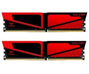 Memória 8GB (2X4) 2666MHZ DDR4 TEAM GROUP T-FORCE VULCAN
