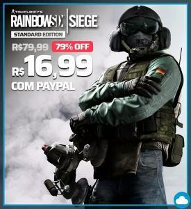 Rainbow Six Siege - Standard Edition    R$17