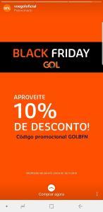 10% Off Black Friday GOL (Norte)
