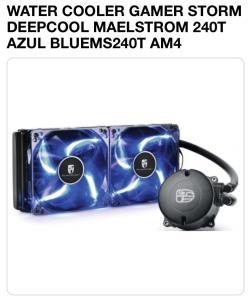 WATER COOLER GAMER STORM DEEPCOOL MAELSTROM 240T AZUL BLUEMS240T AM4 - R$247