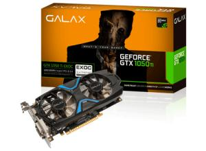GALAX Geforce GTX 1050 TI EXOC 4GB GDDR5
