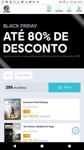 Black Friday UBISOFT descontos de até 80%!!!