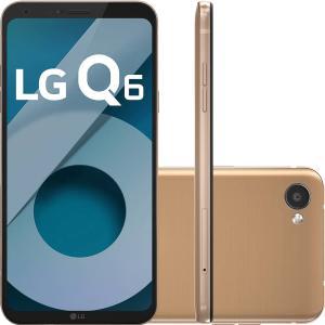 Smartphone LG Q6 Dual Chip - R$759