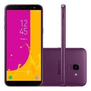 Smartphone Samsung Galaxy J6 Dual Chip Android 8.0 Tela 5.6 32GB 4G SM-J600GZPCZTO   R$711