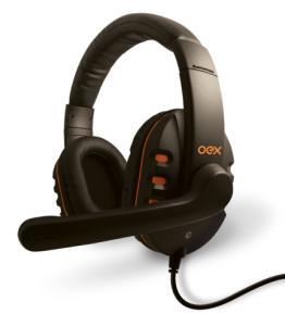 Headset Gamer Oex Action Hs200 Preto, Plug P2  R$ 37,91