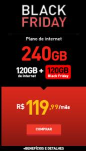 Claro Black Friday - 240GB de Internet