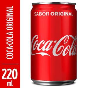 Refrigerante COCA COLA Mini Lata 220ml