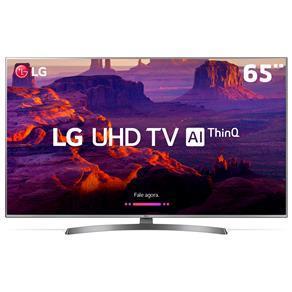 "Smart TV LED 65"" Ultra HD 4K LG 65UK6540PSB com IPS, Inteligência Artificial ThinQ AI, WI-FI, HDR 10 Pro - R$4800"