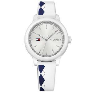 Relógio tommy hilfiger feminino borracha branca - 1781812 - R$195