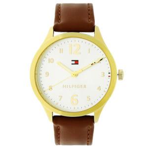 Relógio tommy hilfiger feminino couro marrom - 1781802 - R$275