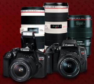 Black Week da loja da Canon - até 35% OFF