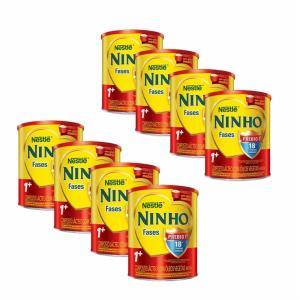 Compre 8 Unidades de Nestlé Composto Lácteo Ninho Fases 1+ 800g - Ganhe Desconto por R$ 145