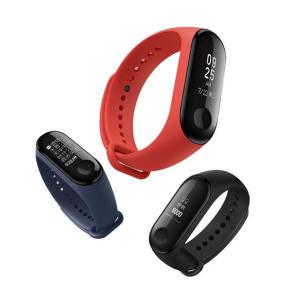 Original Xiaomi Mi band 3 Smart Wristband OLED Display 50M Waterproof Heart Rate Monitor Bracelet - Black por R$ 81