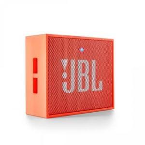 Caixa de som JBL Go / Bluetooth / Micro USB / Conexao Auxiliar / Laranja - Bateria por R$ 88