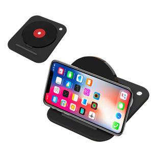 Carregador Sem Fio Carregamento Pad Para iPhone XS MAX XR 8 Nota 9 Xiaomi Mix 3 - Vermelho | R$23