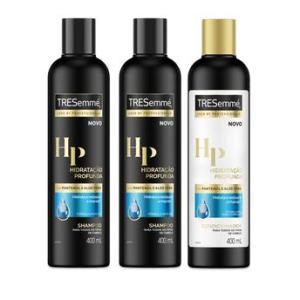 Kit Shampoo 2 unidades + Condic Tressemé Hidratação Profunda 400ml por R$ 18