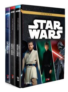 "Livros | Box ""Star Wars: Legends"", por Ryder Windham - R$41"