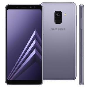 """Smartphone Samsung Galaxy A8 Android 7.1, Câmera 16MP, Proteção IP68, Processador Octa Core e RAM de 4GB, 64GB, Ametista, Tela 5,6"""" - R$1620"""
