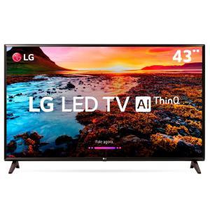 "Smart TV LED 43"" Full HD LG 43LK5750PSA com IPS - R$1599"