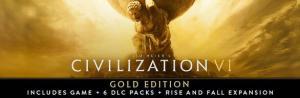 Jogo Sid Meier's Civilization VI Gold Edition (todas as DLC's)   R$83