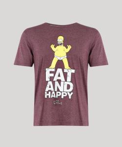 Camiseta Masculina Homer Simpson - R$27
