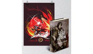 Combo Ultimate Ruff Ghanor - Livro A Lenda de Ruff Ghanor  (vol 3) + Poster | R$60