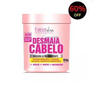 Máscara Ultra Hidratante Desmaia Cabelo Forever Liss 950g - R$38