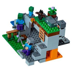 LEGO Minecraft - A Caverna do Zombie.