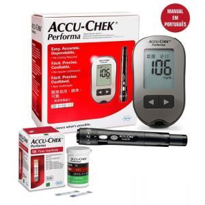 Kit monitor glicemia Accu-Chek