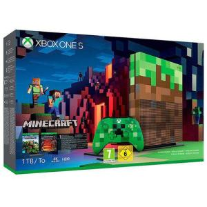 Console Microsoft Xbox One S 1tb + Minecraft | R$1.399