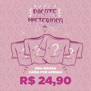 Pacote Misterioso Manga Caída - Feminino | R$25