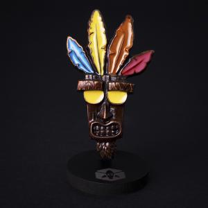 Colecionável de Metal - Máscara Aku-Aku | R$40