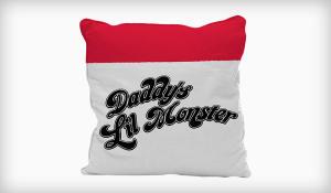 Capa de almofada Harley Quinn  Daddy's Lil Monster - DC COMICS | R$19