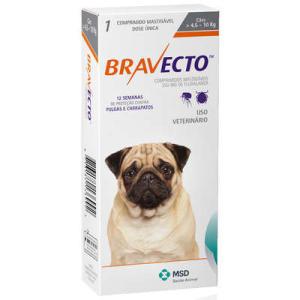 Antipulgas e Carrapatos MSD Bravecto - R$132
