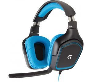 Headset Logitech G430 - Surround 7.1 USB/P2