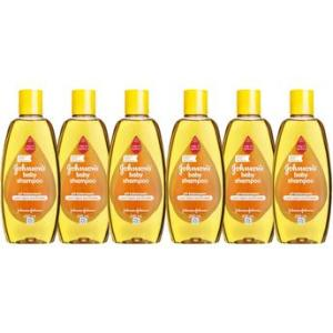 Kit Shampoo Johnsons Baby Regular 200Ml Com 6 Unidades