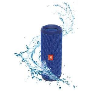Caixa de Som JBL Flip 4, Bluetooth, 2x8 watts, à prova dágua, Azul - R$349